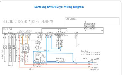 dryer wiring schematic wiring diagram with description