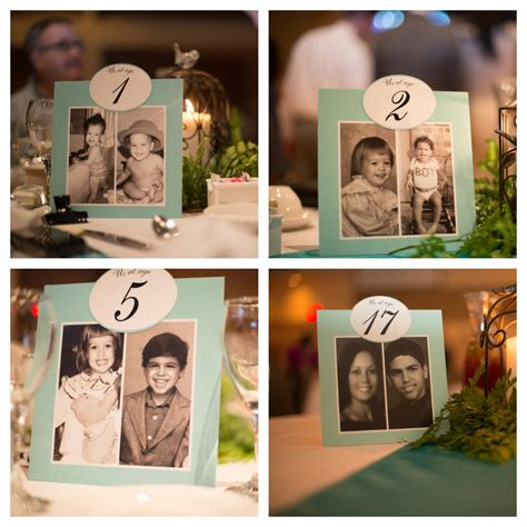 Wedding Table Number Ideas Wedding Table Numbers Decoration