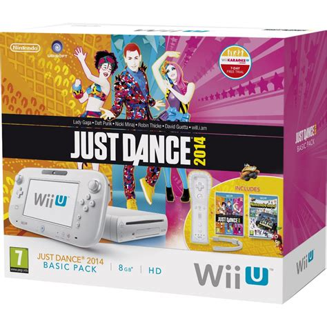 wii console just nintendo wii u just 2014 basic pack 8gb white