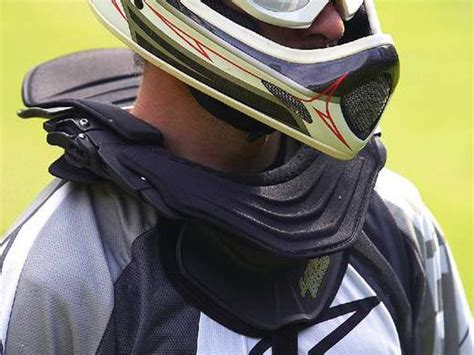 Leatt Brace Moto GPX Club neck brace review   BikeRadar