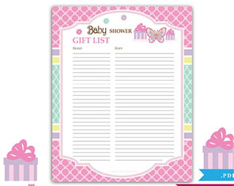 Printable Baby Shower Guest Sign In Sheet by 7 Best Images Of Free Printable Baby Shower Sign In Sheet