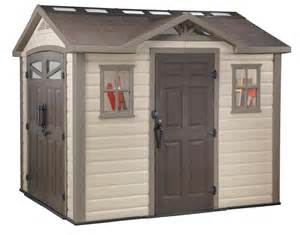 keter summit 8x9 plastic storage shed 17190650 on sale now