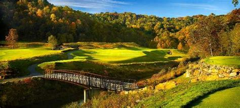 Pete Dye Golf Club In Bridgeport West Virginia Usa