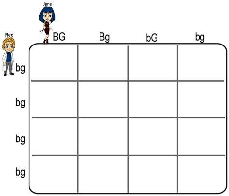 Punnett Square Worksheet by Worksheets Dihybrid Punnett Square Worksheet Opossumsoft