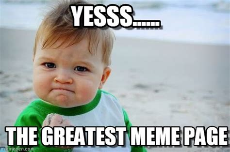 yesss success kid original meme on memegen