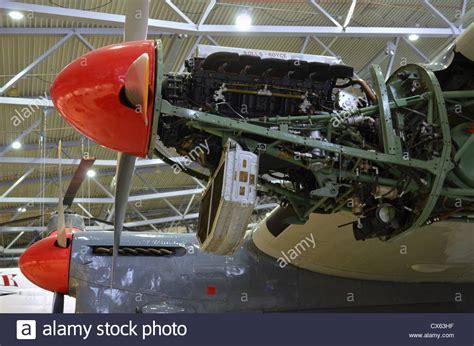 rolls royce merlin v12 piston engine avro york duxford