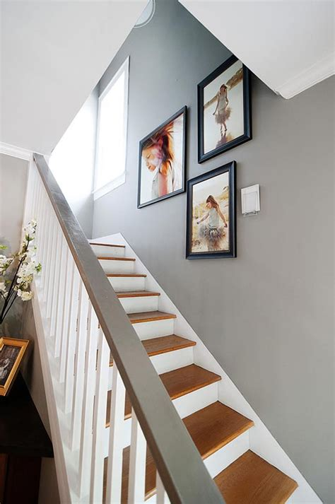 paint colors for hallways and stairs slipping sliding safety carpeted vs wooden stairs