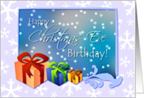 images of christmas eve birthday birthday on christmas eve cards from greeting card universe