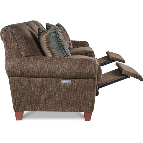 bennett leather 88 power reclining sofa la z boy bennett duo power reclining sofa with usb