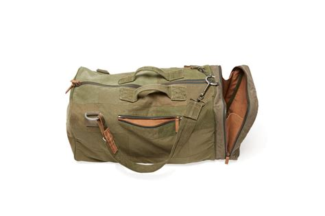 canvas duffle backpack re mfrd recycled canvas backpack duffle 187 gadget flow