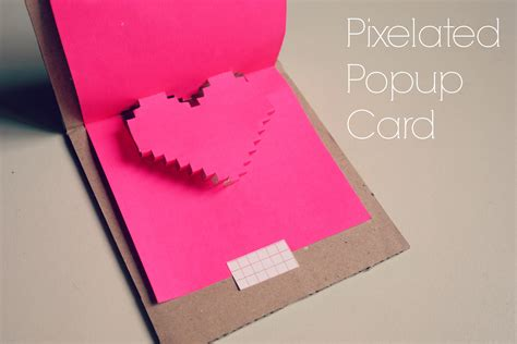 make a popup card popup card it blissful