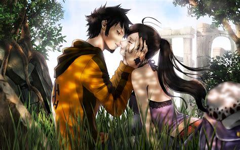 7 Anime One by One Trafalgar And Nico Robin