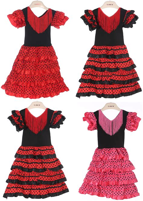 pattern for spanish dress aliexpress com buy new girls beautiful spanish flamenco