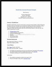 Resume Template Sales Associate by Sales Associates Resume Sales Associate Lewesmr