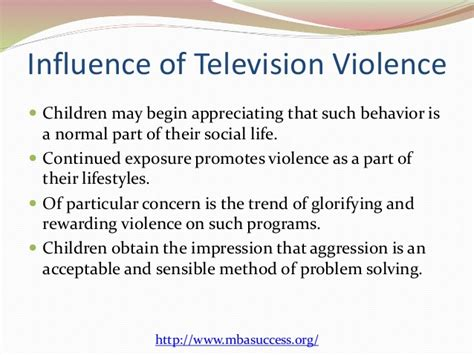 Children And Tv Violence Essays by Children And Television Essay
