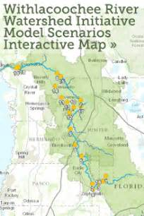florida river map withlacoochee river watershed initiative
