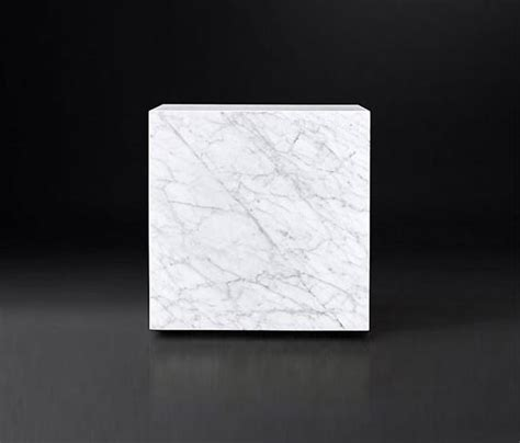 marble plinth coffee table marble plinth cube side table coffee tables from rh