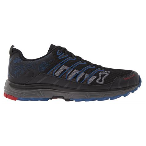 ultra running shoes inov8 race ultra 290 black blue mens trail shoes