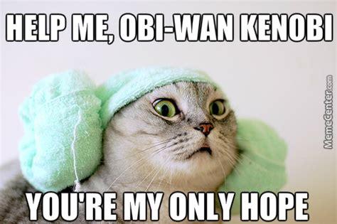 Help Me Meme - help me obi wan by robertchristian meme center
