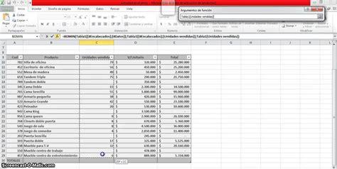 tutorial excel 2010 base de datos funciones bd base de datos en excel youtube