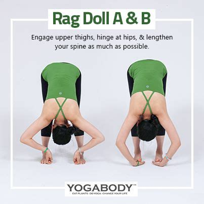 rag doll b side pin by yogabody naturals on 32 poses and tips