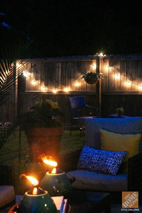 backyard string lights ideas 1000 images about backyard ideas on pinterest patio