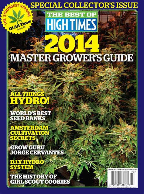 Garden State Dispensary Menu Master Pot Grower S Guide Weedquest