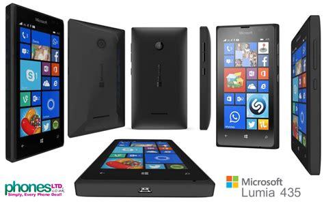 Microsoft Nokia Lumia 435 black microsoft lumia 435 gets deals on o2 talk mobile vodafone phone images