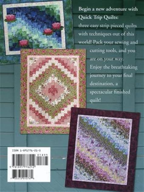 Trip Around The World Quilt In A Day by Trip Quilts By Eleanor Burns Quilt In A Day