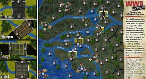 wwii battles operation market garden map