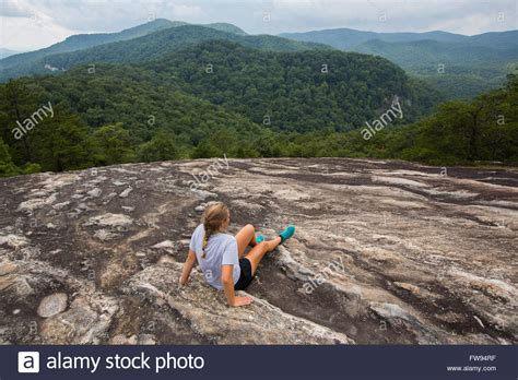 Table Rock Hike by Hiking Table Rock Mountain In Table Rock State Park In