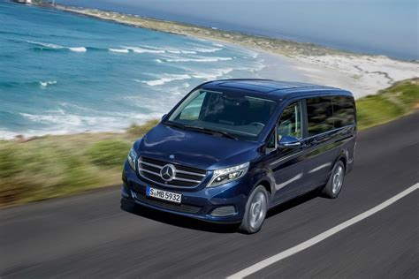 new mercedes v class luxury minivan pictures and details