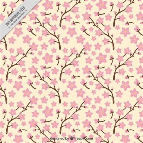 rami con fiori rami con fiori di ciliegio sfondo scaricare vettori gratis