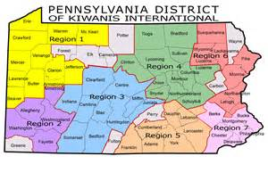 pennsylvania map regions