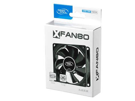 Diskon Deepcool Xfan 12 Black With Hydro Bearing Fan 12cm xfan 80 deepcool fan