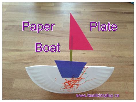 Paper Boat Craft For Preschoolers - 17 best ideas about boat craft on boat