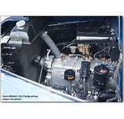 Spark Plug Located On A Plymouth 217 Cu In Flathead 6 Cylinder