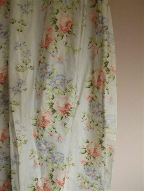 laura ashley vintage curtains laura ashley vintage french look shabby chic chintz roses