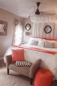 Coral Bedroom Curtains Curtain Canopy Coral White Comforter Grey Chevron Bedroom Home Happy Grey