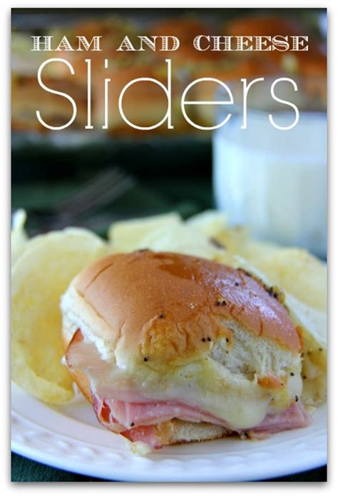Wich Of The Week Easter Ham Slider by Ham And Cheese Sliders Bakerette