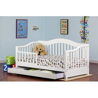 baby day bed dream on me toddler day bed with storage drawer white