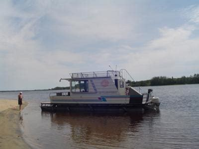 quebec fishing boat builders homemade houseboats enjoying a great home built pontoon boat