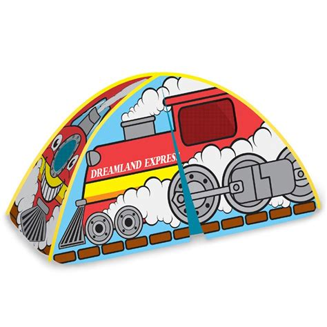 full size bed tent dreamland express train bed tent full double size