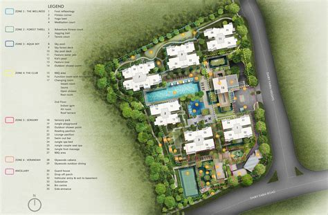 Site Plan | the skywood condo the skywood floor plans singapore