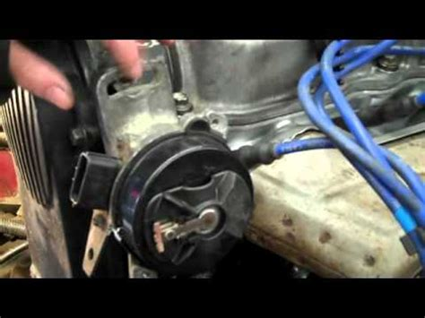 how to install a distributor on a b2200. by: shayne b