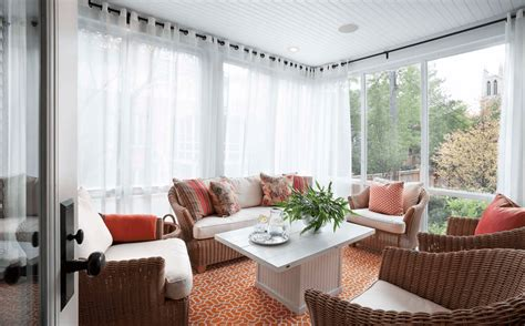 curtains for sun porch window treatment ideas for every room in the house