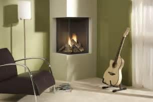 room corner fireplace design
