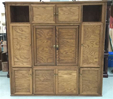 solid wood entertainment cabinet large solid wood entertainment storage cabinet