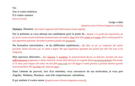 lettere motivazionali per stage lettera in francese di presentazione firmakoek