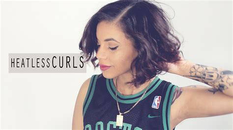 how to curl short heatless how to save curly short hair overnight hairs picture gallery